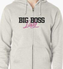 Big boss Lady Hoodie mit Reißverschluss