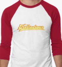 Hellacious  Men's Baseball ¾ T-Shirt