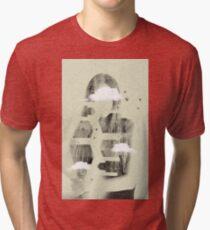Facet Sky Tri-blend T-Shirt