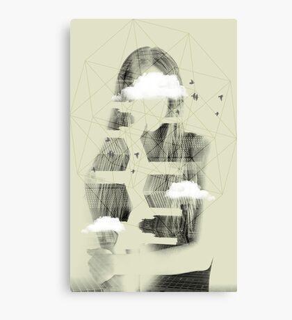 Facet Sky Canvas Print