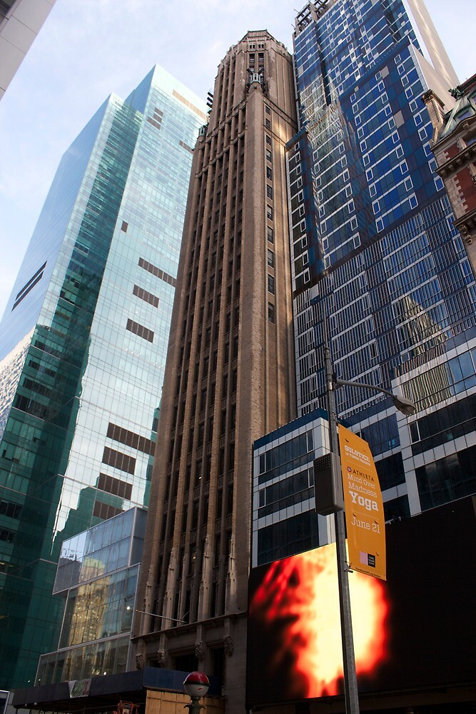 New York City Time Square  by Becca00