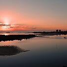 Maroochydore Sunrise. Sunshine Coast, Qld, Australia. by Ralph de Zilva