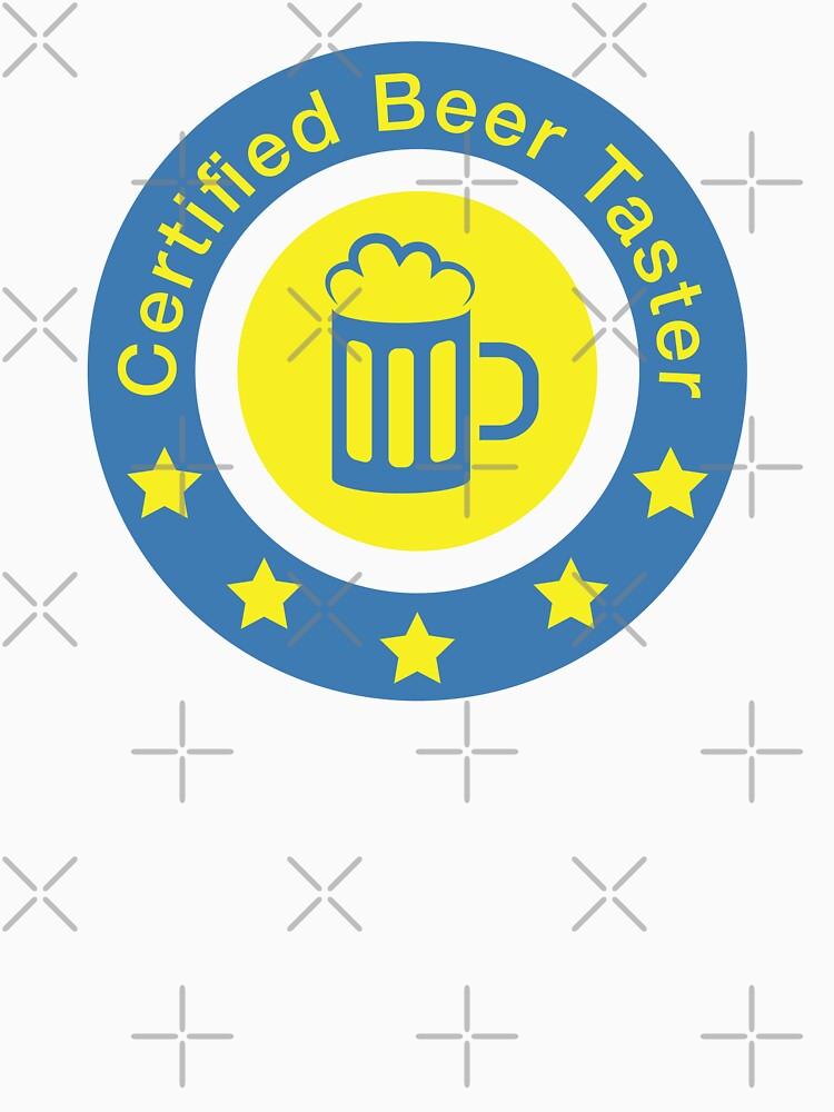 Certified beer taster by florintenica