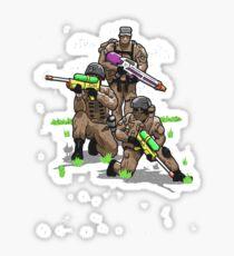 Soak Squad Six Sticker