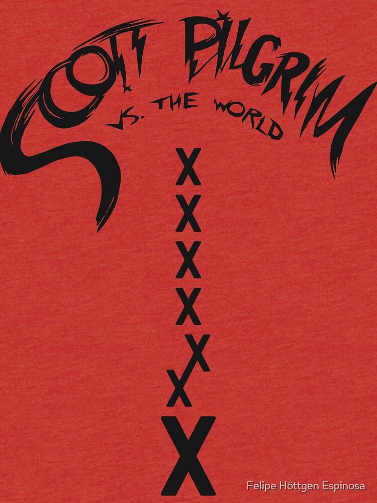 Scott Pilgrim - Seven Evil Exes by fhespinosa