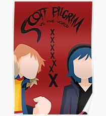 Scott Pilgrim - Seven Evil Exes Poster
