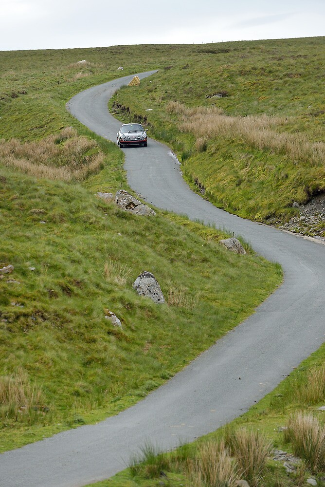 The Three Castles Welsh Trial 2014 - Porsche 911 RS 2.7 by Three-Castles