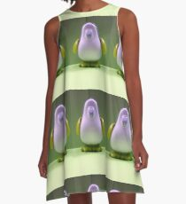 Sprite the Penguin A-Line Dress