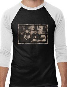 Witches Tea Party - old black/white Men's Baseball ¾ T-Shirt