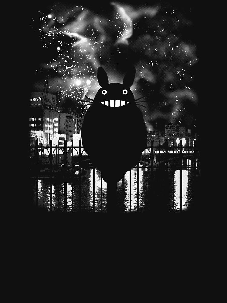 Totoro by lightning-bolt