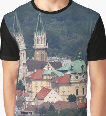 Monastery Klosterneuburg, Lower Austria Graphic T-Shirt