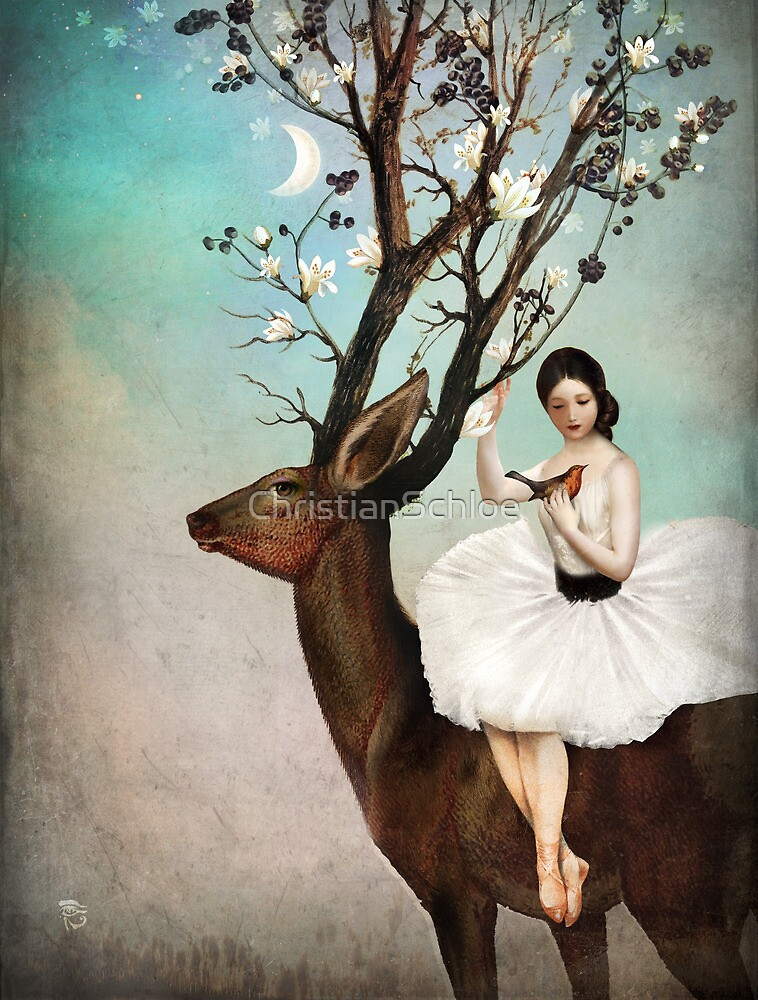 The Wandering Forest by ChristianSchloe