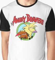 The Angry Beavers Graphic T-Shirt