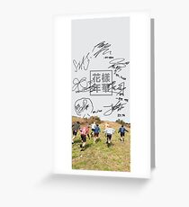 BTS phone case #17 Greeting Card
