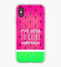 Drinking Watermelon iPhone Case