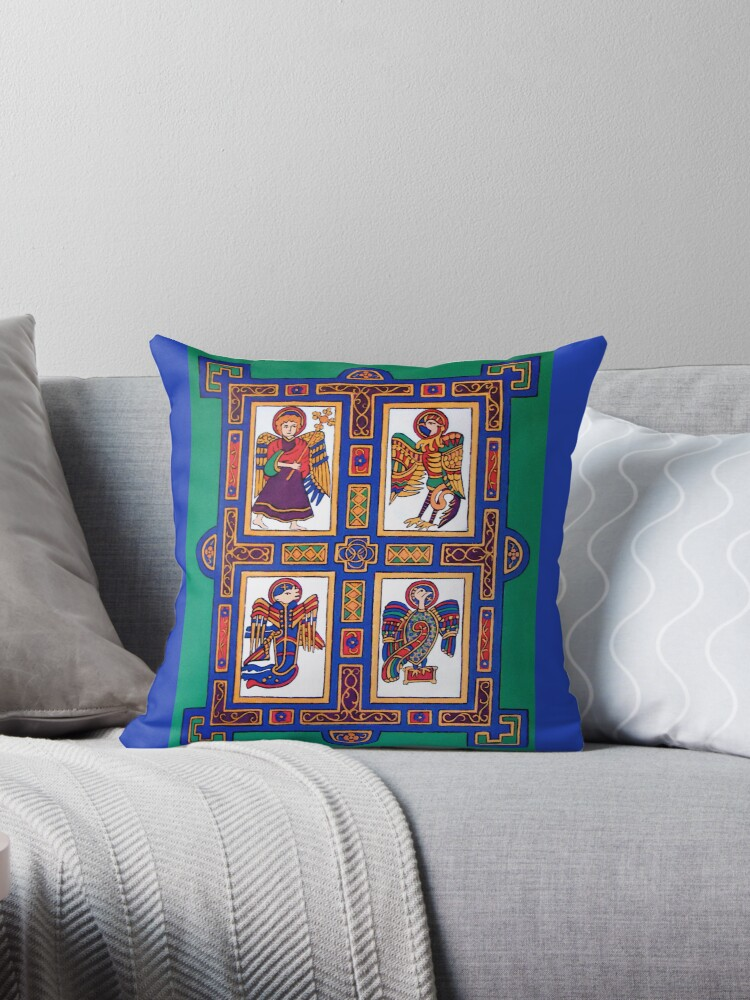 The Four Evangelists Pillow and Tote Bag by Shulie1