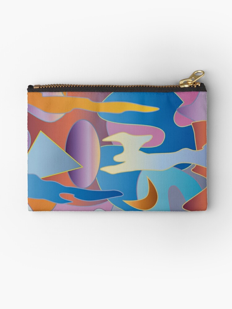 Abstract Colorful Sky Tones Dawn Sunset Daylight Evening by Beverly Claire Kaiya