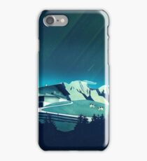 Alpine Hut iPhone Case/Skin