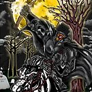 Sleepy Hollow- Headless Horseman von American  Artist