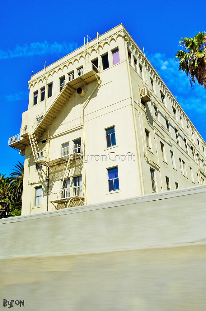 Old Hollywood Apartments by Byron Croft by ByronCroft
