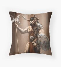 Guardian of the Labyrinth Throw Pillow