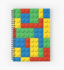I Love Lego Spiral Notebook
