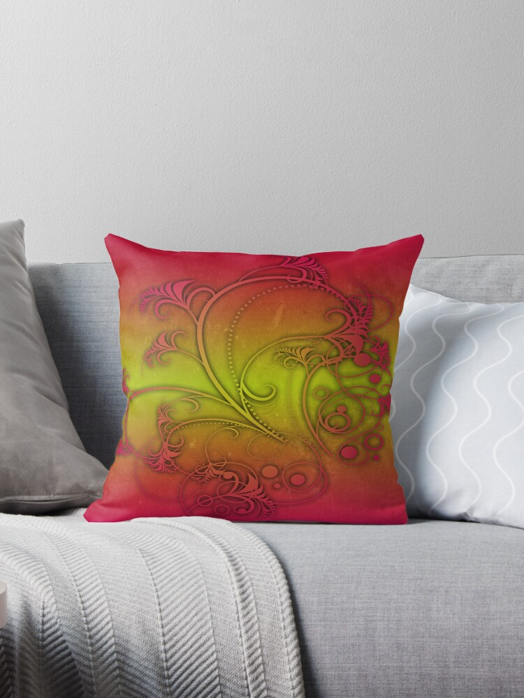 Colorful Decoration by Gold Target
