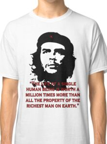 Che Guevara Quote Classic T-Shirt