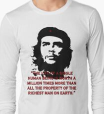 Che Guevara Quote Long Sleeve T-Shirt
