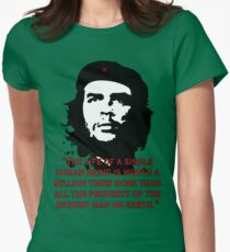 Che Guevara Quote Womens Fitted T-Shirt