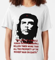 Che Guevara Quote Slim Fit T-Shirt