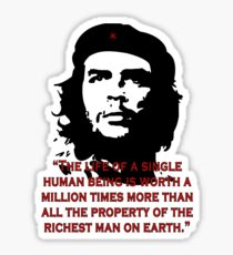 Che Guevara Quote Sticker