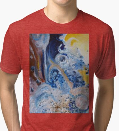 Happy floating marbles Tri-blend T-Shirt