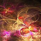 Leaving Home, Coming Home - Abstract Fractal Artwork by EliVokounova