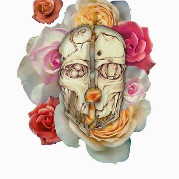 Floral Mask of Corvo by flamelish