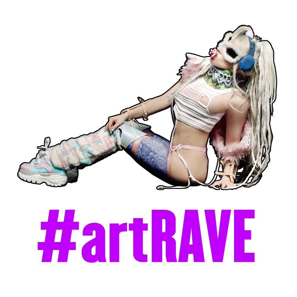 artRAVE T-Shirt #2 by gagachicago