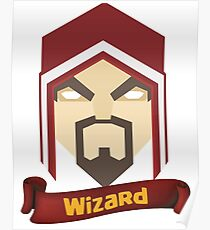 Wizzard 6th Level Poster