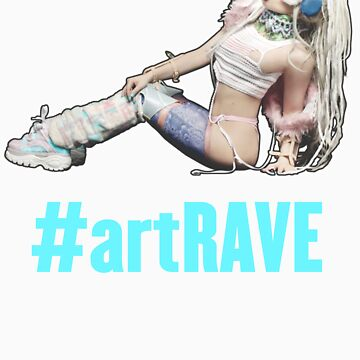 artRAVE T-Shirt #5 by gagachicago