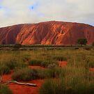 Uluru by Doug Cliff