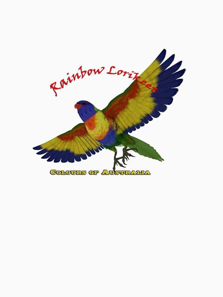Rainbow Lorikeet - Colours of Australia by kellyocs