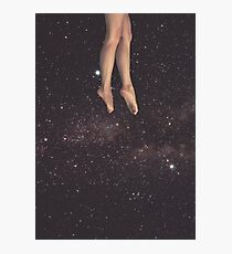 Hanging in space Photographic Print