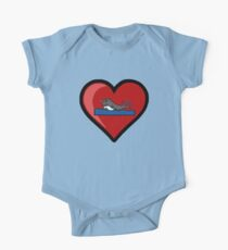 Baby Narwhal Love One Piece - Short Sleeve