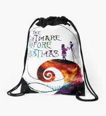 The Nightmare Before Christmas Drawstring Bag
