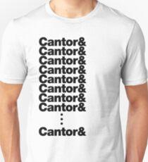 Camiseta unisex Cantor.