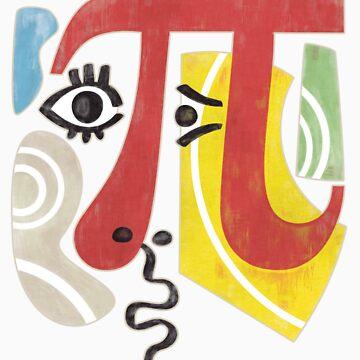 Pi-Casso Pi Symbol by ZapBrand