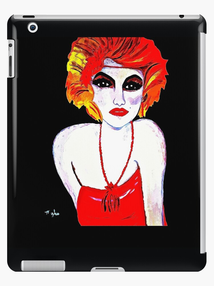 The Red Headed Flapper Girl II by Saundra Myles
