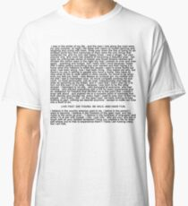 Ride Monologue Classic T-Shirt