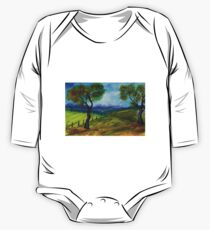 To paint a landscape  One Piece - Long Sleeve