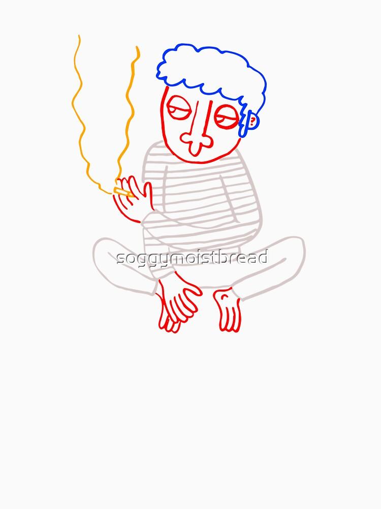 BAD GUY SMOKING by soggymoistbread