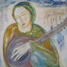"""Musician at Rest"" by catherine walker"